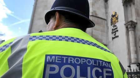 A stock photo of a Met Police officer. Picture: Nick Ansell/PA