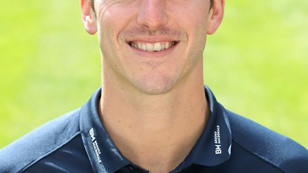 Toby Roland-Jones hit a half-century in Middlesex's defeat against Gloucestershire (pic Adam Davy/PA