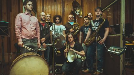 Hackney Colliery Band. Picture: Aidan Harris