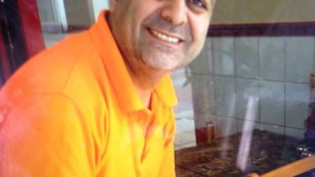 Huseyin Gulbudak was stabbed to death in his cafe