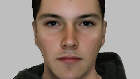Police have released an e-fit of a man they wish to speak to in connection with a Spurs fan assault