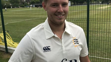 James Parslow of North Middlesex CC (pic: North Middlesex CC)