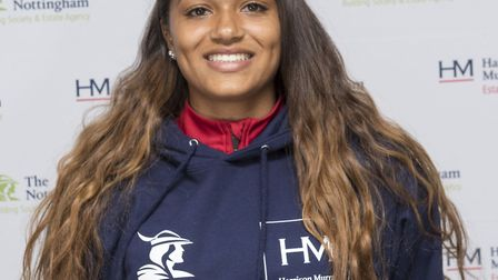 Arsenal Ladies Academy youngster Taylor Hinds has received funding from the Nottingham Building Soci