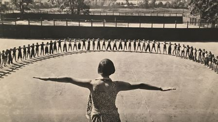 Morning excercise, 1937. Photo: The Borodulin Collection.