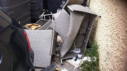 Marina Lounge in Bridge Road was fined for fly-tipping