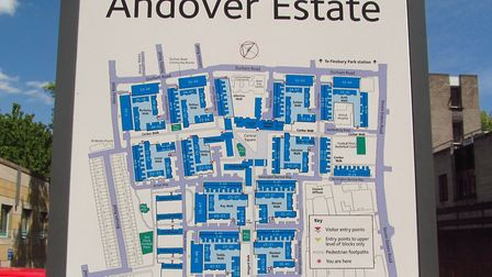 The Andover Estate in Finsbury Park has been identified by Islington Council as having chronic damp