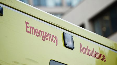 A teenager was rushed to hospital with a stab wound