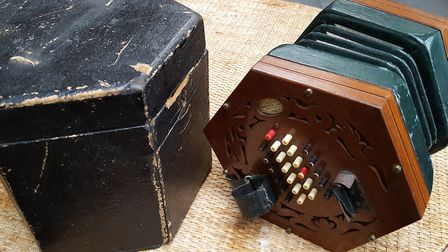 Nickolds Concertina No 1897. Picture: Mike Durham