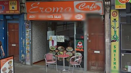 Eroma Cafe in Holloway Road. Picture: Google Maps