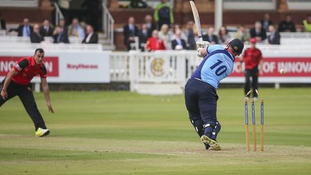 Action from the 2016 Inter-Services T20 tournament at Lord's (pic Sgt Ross Tilly RAF)