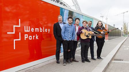 The Busk Academy is launching at Wembley Park (Pic: Gary W Smith)