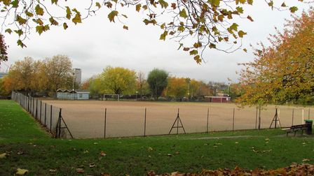 Islington Council is getting rid of Barnard Park's full-size pitch. Picture: David Holt/Flickr/CC BY