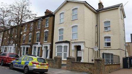 The house in Finsbury Park where Gabriel was killed in March. Picture: Victoria Jones/PA