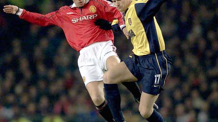 This picture can only be used within the context of an editorial feature. Manchester United's Nicky