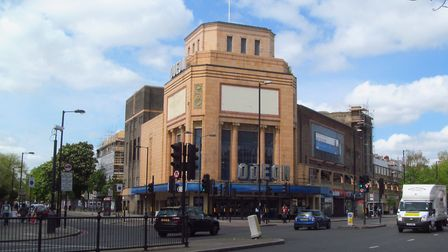 The planning session focused on the area between the Odeon, pictured, and Holloway Road Tube. Pictur