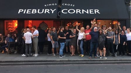 Piebury Corner has opened a new shop in Caledonian Road, King's Cross. Picture: Paul Campbell