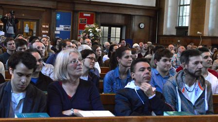 There were 265 people counted at the Gazette hustings for Islington South and Finsbury in St Mary's