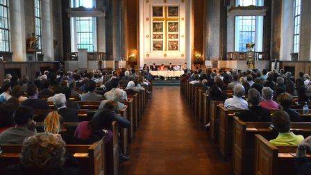 265 people attended the Gazette hustings for Islington South and Finsbury in St Mary's Church. Pictu