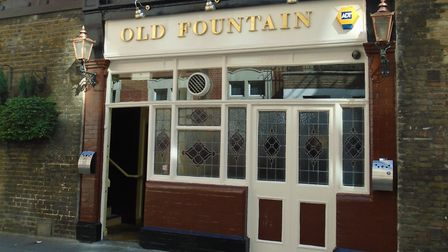 The Old Fountain in Baldwin Street: retaining its backstreet charm. Picture: Johnny Homer