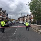 Harlesden Road after the raids. Picture: Nathalie Raffray
