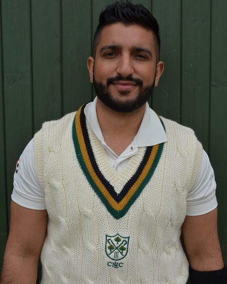 Hussain Shabbir top scored for North London at the weekend against Barnes (pic: North London CC).