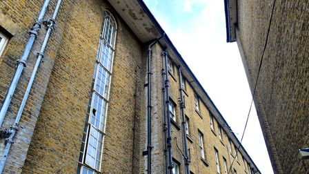 Jean Willson said flats in Roman Way at the back of Pentonville Prison have been empty for 25 years.