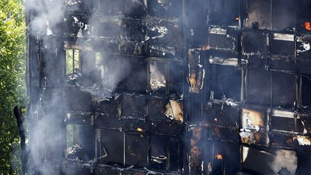 More than 200 firefighters were sent to tackle the blaze. Picture: Rick Findler/PA Wire