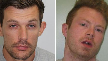 James Whitlock and Matthew Baker have been sentenced after admitting breaking out of Pentoville Pris