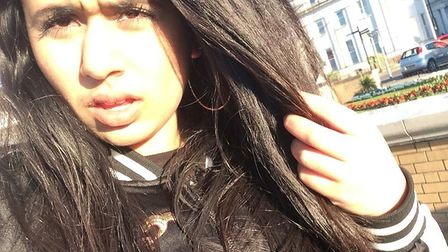 Missing: Fatima Hashmi has not been seen since 1am on Friday. Picture: Met Police