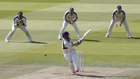 Paul Stirling scored a century for Middlesex against Yorkshire at Lord's (pic: Jed Leicester/PA)