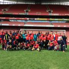 Arsenal in the Community 'day of football' at Emirates Stadium