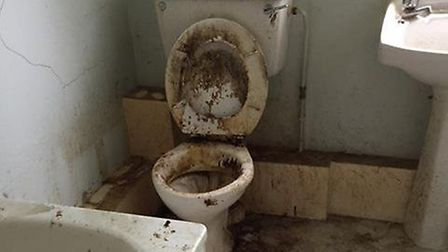 'The most disgusting thing I've ever seen.' The flat in Jackson Road that Sev was shown around with