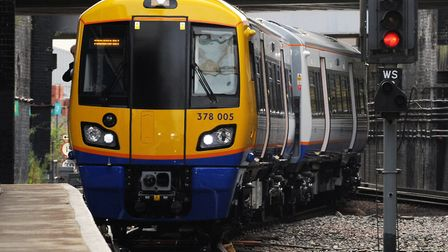 A file image of an Overground train. Picture: Fiona Hanson/PA Archive