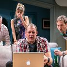 Twitstorm at the Park Theatre. Picture: Darren Bell