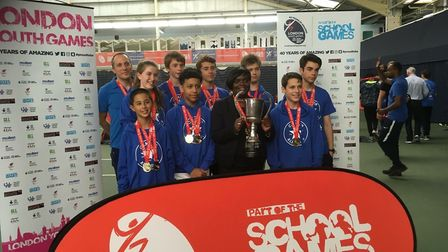 Camden won the London Youth Games fencing competition after taking gold in the junior and senior com