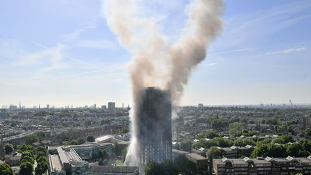 Smoke billows from 24-storey Grenfell Tower after the devastating blaze that killed at least 79 on J