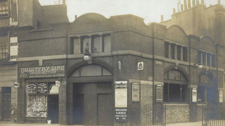 City Road station pictured in 1915. Picture: Transport for London