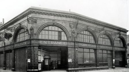 York Road station, pictured a year after it opened in 1907. Picture: Transport for London