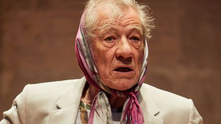Sir Ian McKellen performs Shakespeare, Tolkien, Others and You at Park Theatre. Picture: Mark Douet