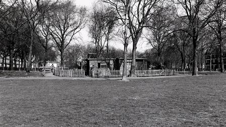 The public toilets in Highbury Fields were a cottaging hotspot in the 1960s. Picture: Islington Muse