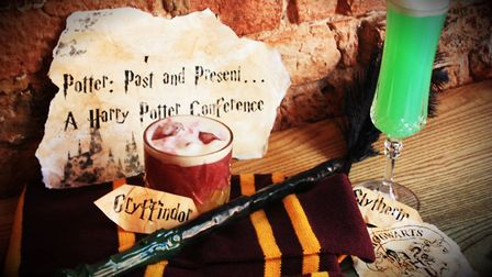 Harry Potter con at the Book Club