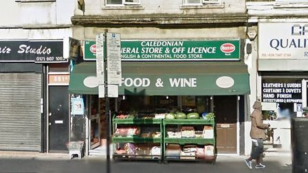 Caledonian General Store, in Caledonian Road. Picture: Google Street View