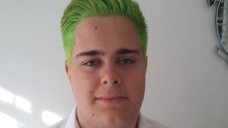 17-year-old Joseph Pullen-Coles died his hair for GOSH