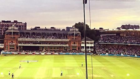 More than 27,000 people attended the NatWest Blast T20 match Middlesex v Surrey. Credit Layth Yousif