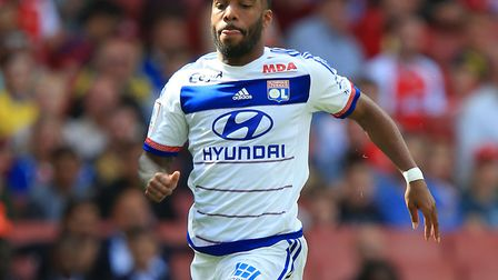 Arsenal have signed Alexandre Lacazette from Lyon for a club record fee (pic: John Walton/PA)