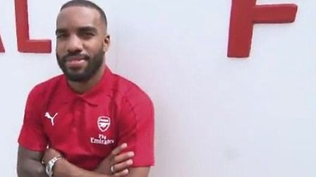 Arsenal revealed the signing of Alexandre Lacazette through their Arsenal Media channel (pic Arsenal