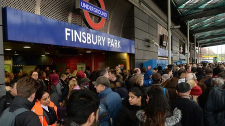 People were locked out of Finsbury Park station 83 times in six months. Picture: PA