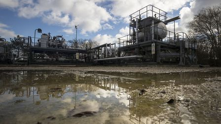 The Third Energy facility in Yorkshire where fracking is planned to take place. Local London Energy