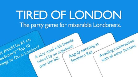 Tired of London card game