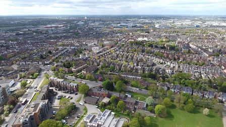 Aerial view of Harlesden (Picture: Brent Council)